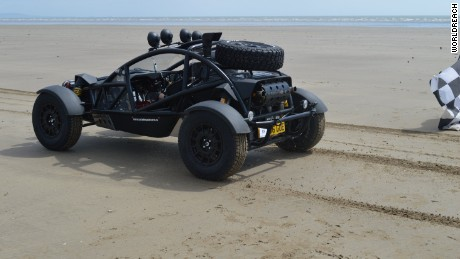 Dutchman Art Bursaz drove an Ariel Nomad buggy.