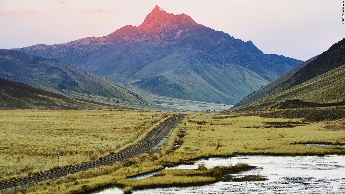 Peru's Andean Explorer: A luxury train journey on the roof of the world