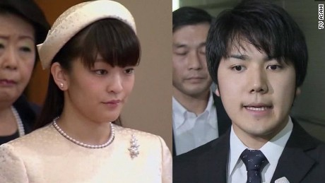Japanese Princess Mako is getting engaged with a commoner, Mr. Kei Komuro.