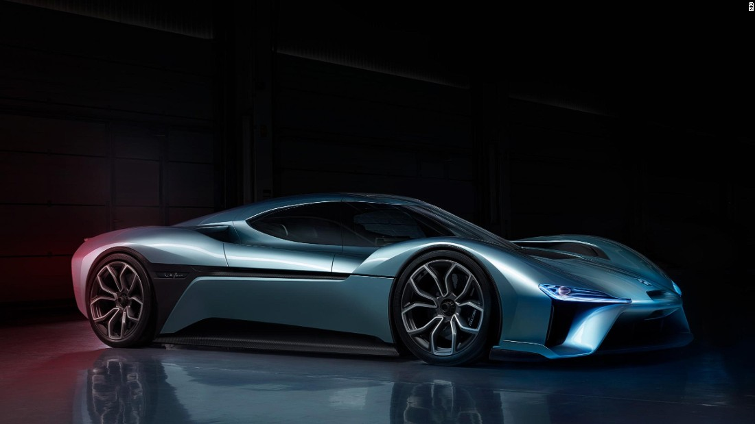 The EP9 boasts one megawatt of power, equivalent to 1342 BHP, and a top speed of 194 mph (312 kph).