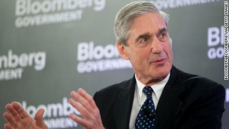 Robert Mueller, former director of the Federal Bureau of Investigation (FBI), speaks during a Bloomberg Government cybersecurity conference in Washington, D.C., U.S., on Tuesday, June 3, 2014.