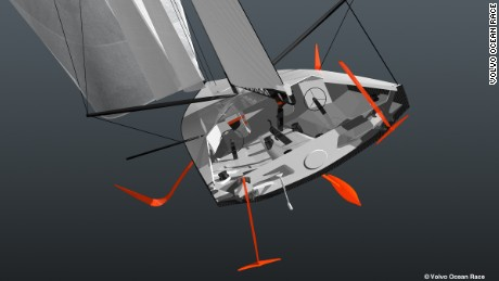 The next generation Volvo Ocean Race boats will be 65ft foil-assisted monohulls.