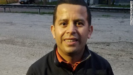 Salvadoran immigrant Ulises Leonel says he's asked for asylum in Canada and been denied twice.