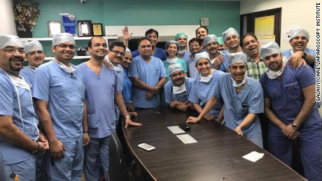 Mom donates womb to daughter in India's first uterus transplant