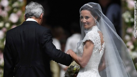 Pippa Middleton ties the knot