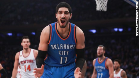 NBA's Enes Kanter: Turkey canceled my passport over my political views