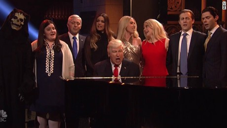 How 'SNL' got under Trump's skin