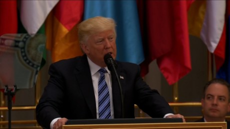 Trump: Terror a battle between good and evil