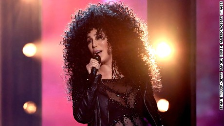 Actor/singer Cher performs onstage during the 2017 Billboard Music Awards at T-Mobile Arena on May 21, 2017 in Las Vegas, Nevada.