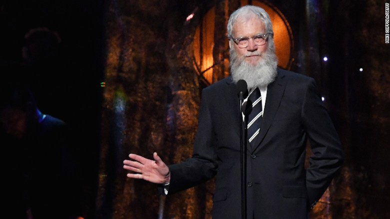 Letterman receives Mark Twain prize for humor