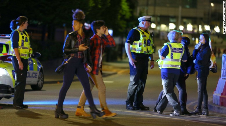 How the Manchester Arena explosion unfolded