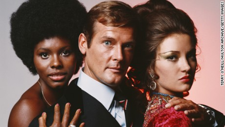 Roger Moore, the longest-serving Bond
