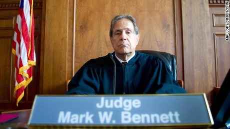 The judge who says he's part of the gravest injustice in America
