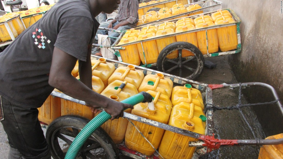 Average spending on water could be as high as $44 a month almost at par with Nigeria's minimum wage of $47 per month.