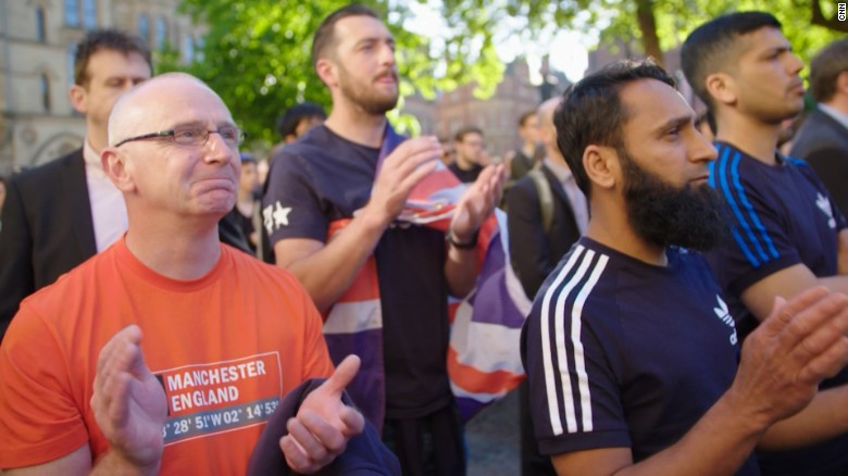 Manchester unites: 'We're stronger together'
