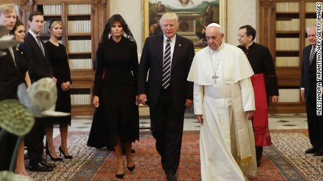 Melania Trump is the first Catholic first lady since Jackie Kennedy