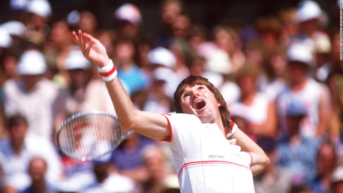"Eight-time major winner Jimmy Connors, however, balanced the two ""brilliantly,"" says Jones. ""He used to coordinate his power shots to his grunts beautifully."""