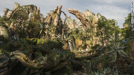 Pandora - The World of Avatar at Disney's Animal Kingdom brings a variety of experiences to the park, including the family friendly Na'vi River Journey attraction, the thrilling Flight of Passage attraction, as well as new food, beverage and merchandise locations. Disney's Animal Kingdom is one of four theme parks at Walt Disney World Resort in Lake Buena Vista, Fla. (David Roark, photographer)