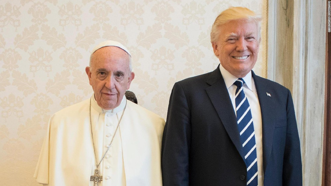 Spicer's absence in papal visit reveals Trump's family-first rule
