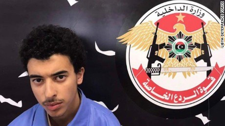 Hashem Abedi was issued with an arrest warrant by British police
