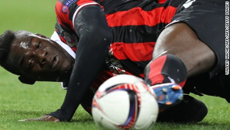 Mario Balotelli: OGC Nice star isn't trouble, he's a 'good guy,' says club president Jean-Pierre Rivère
