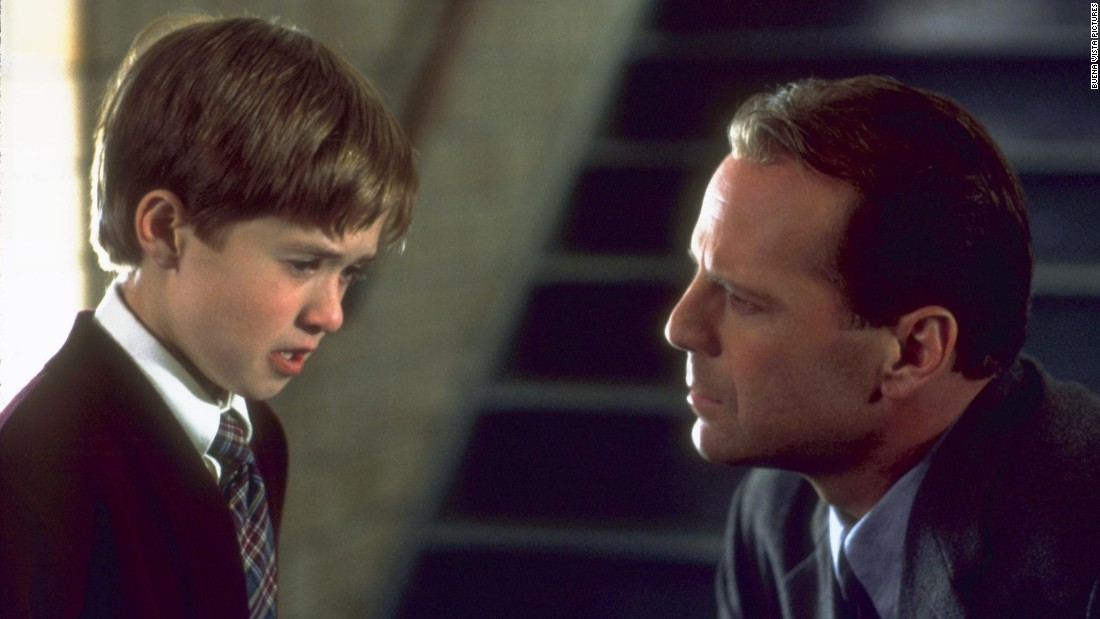 "<strong>""The Sixth Sense"":</strong> A young Haley Joel Osment and Bruce Willis star in this thriller about a child psychologist trying to aid a boy who sees spirits. <strong>(Netflix) </strong>"