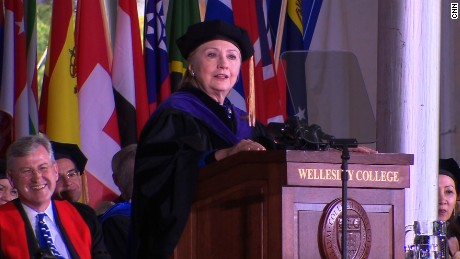 Hillary Clinton commencement 5/26