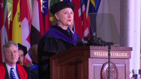 Hillary Clinton Trump impeachment comment wellesley commencement speech sot_00005815