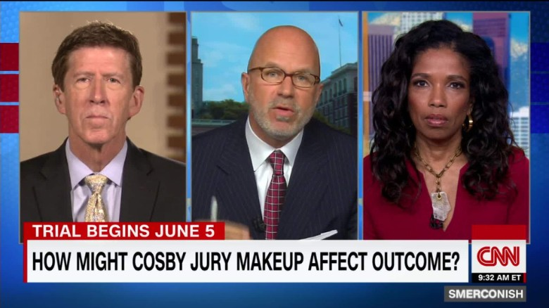 How might Cosby jury composition affect verdict?_00050309