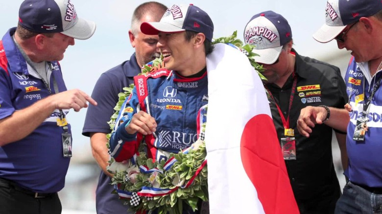 sato indy 500 winner intv_00012911