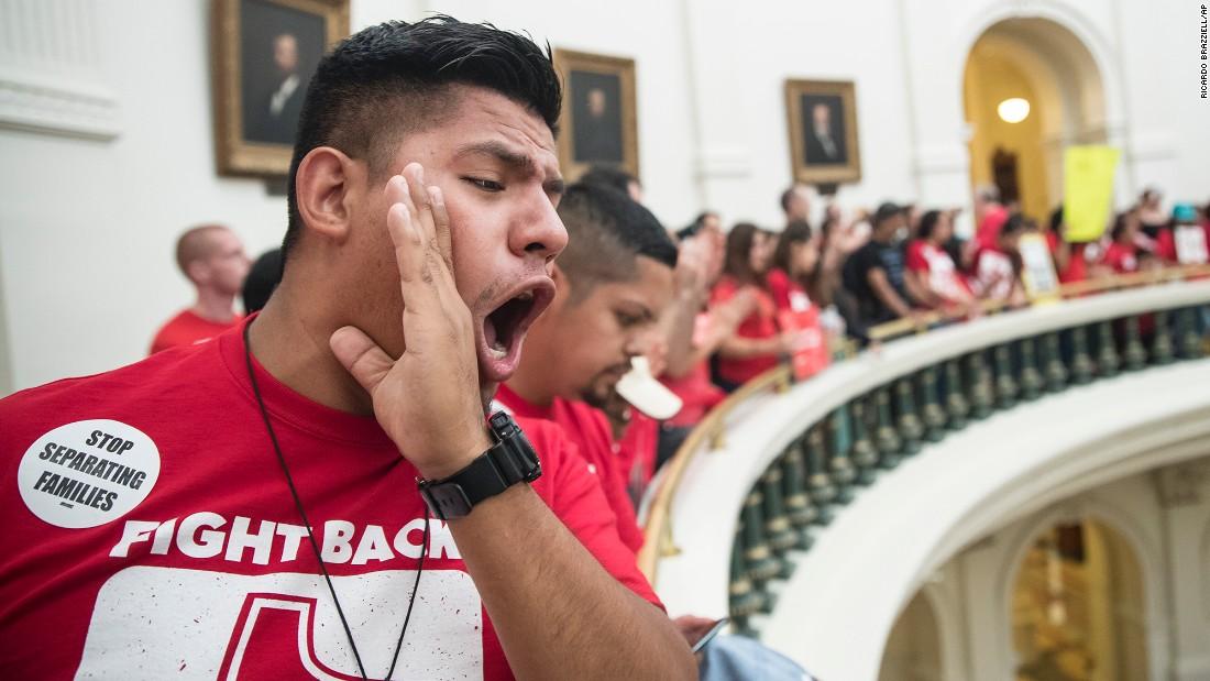 Protest and turmoil rock last day of Texas legislative session