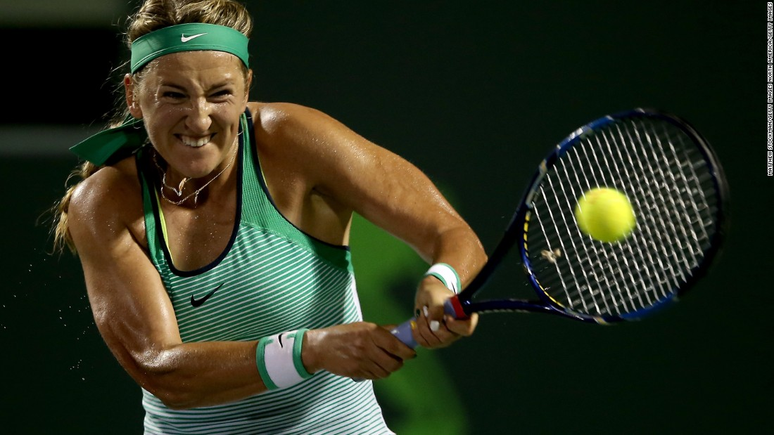 But Azarenka became embroiled in a custody battle with her son's father and didn't play again after Wimbledon. Azarenka received a wildcard for the ASB Classic in Auckland the first week of January but has now withdrawn.