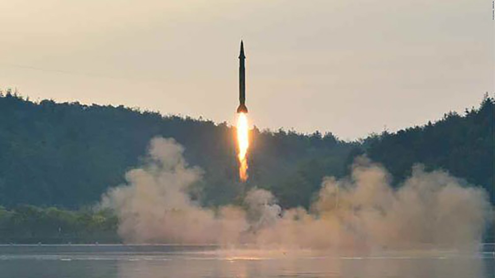 Image result for N. Korea's missile test
