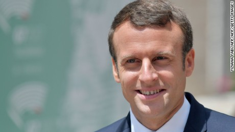Macron to US: Make our planet great again