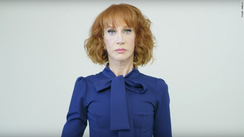 CNN fires Kathy Griffin over anti-Trump photo