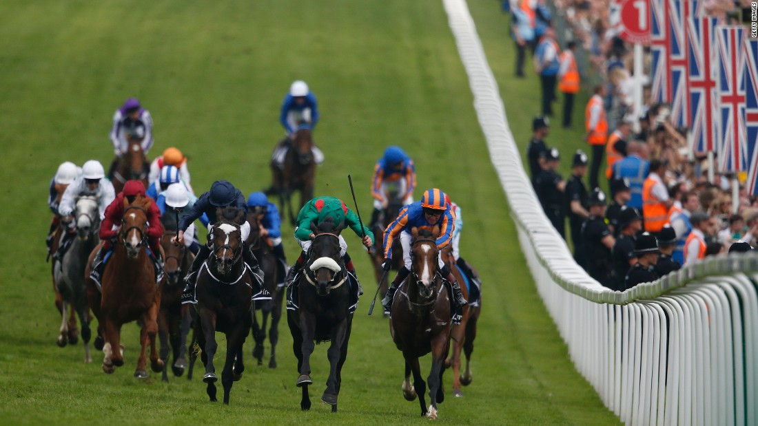 This year's 238th edition of the Epsom Derby is worth nearly £1 million ($1.3 million) to the winning connections.