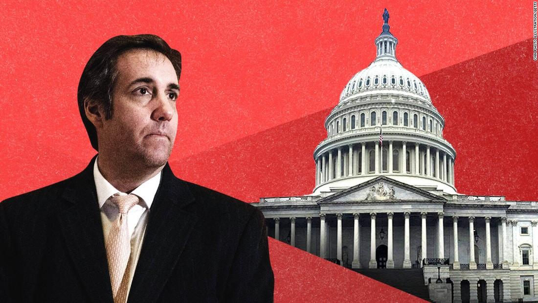 Trump lawyer Michael Cohen says he'll 'gladly' testify -- if Congress subpoenas him