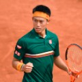 Kei Nishikori french open round one