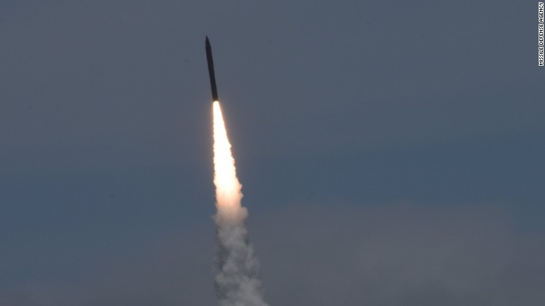 US shoots down ICBM in missile interceptor test
