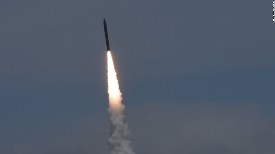 US successfully 'intercepts and destroys' target in missile test