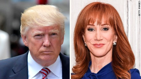 Kathy Griffin's unforgivable message to America and the world