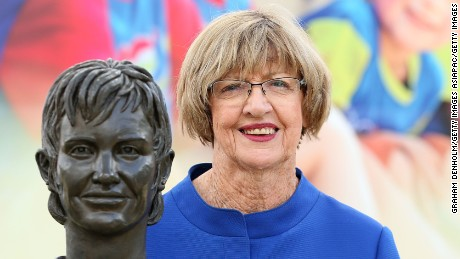 "Margaret Court has stirred up yet more controversy by claiming that tennis is ""full of lesbians."""