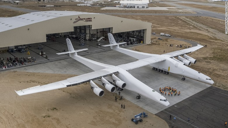 World's largest plane rolled out