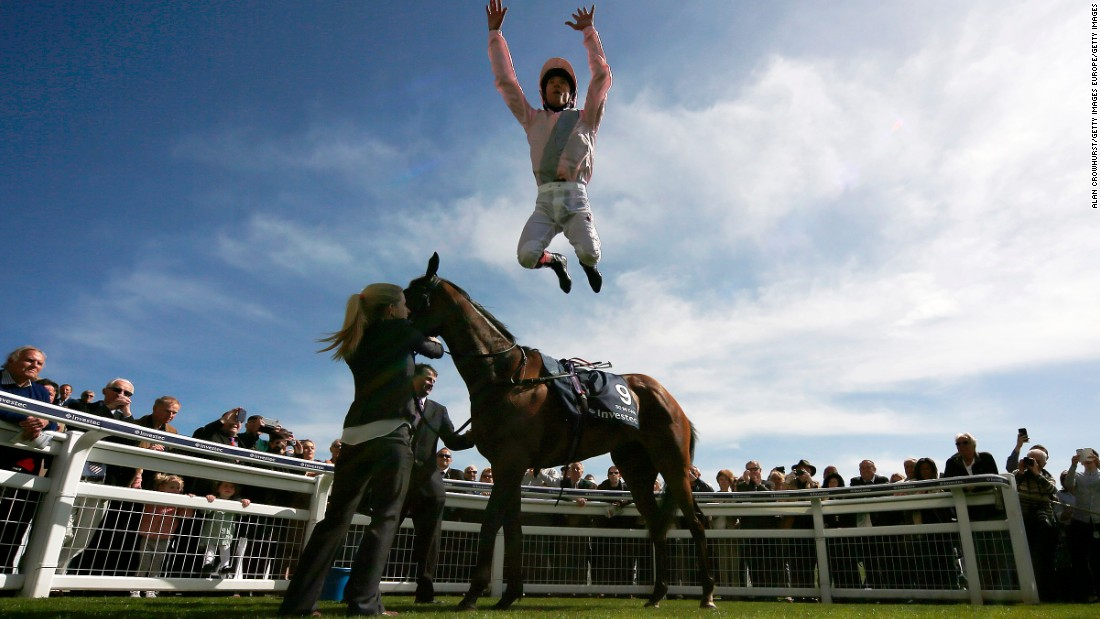 """There's no occasion that gets to you like the Derby,"" said two-time champion Frankie Dettori. ""It's stressful and nerve-racking. You feel the tension, but that's a good thing -- if you arrived at Epsom and you didn't feel it, that would mean the Derby didn't matter. And believe me, it does."""