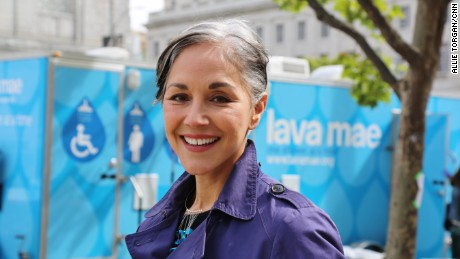 CNN Hero Doniece Sandoval's nonprofit, Lava Mae, has provided more than 20,000 showers to more than 4,000 homeless individuals.
