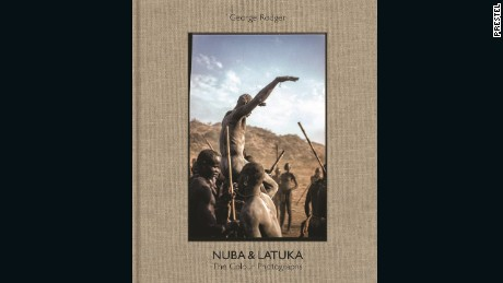 """Nuba & Latuka The Colour Photographs"" by George Rodger (Prestel)."