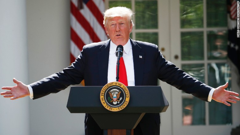 WATCH: Fact-checking Trump's claims in his Paris climate speech