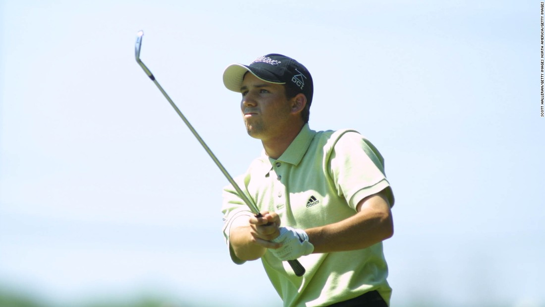 Garcia recorded his first of 10 PGA Tour victories in 2001, at the MasterCard Colonial (now the Dean & DeLuca Invitational) event, ahead of Brian Gay and Phil Mickleson.