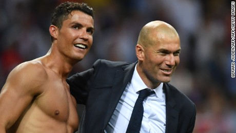 Zinedine Zidane can no longer rely on Cristiano Ronaldo at Real Madrid.
