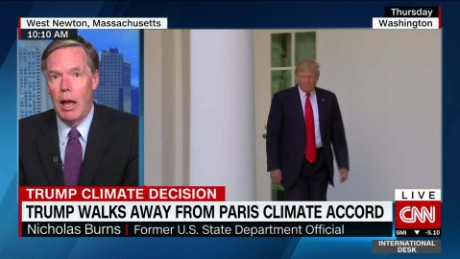 Trump exits Paris climate accord
